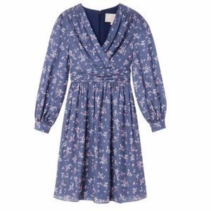 Gal Meets Glam Kelsey Floral Wrap Over Dress